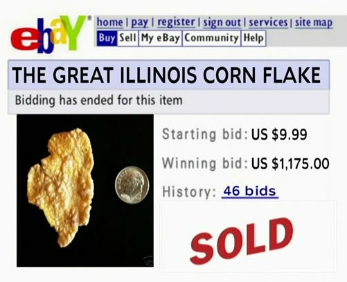 $1,200 cornflake