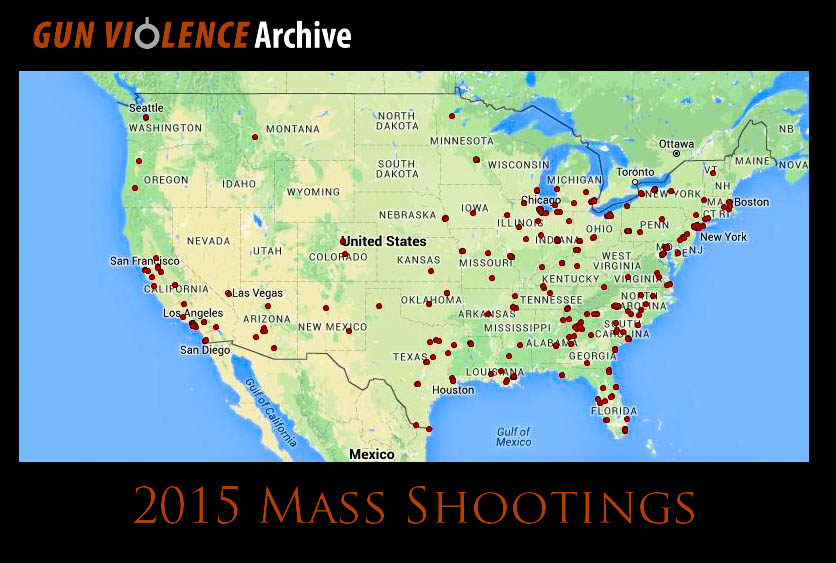 Mass Shootings in 2015