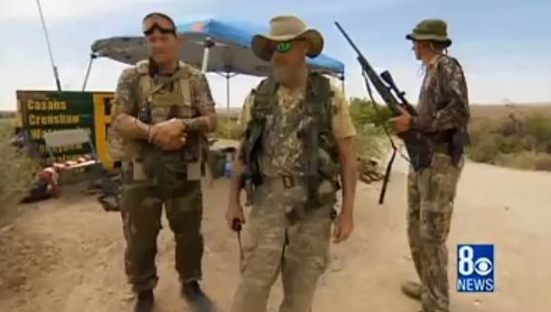 Bundy supporters in defiance of Authorities