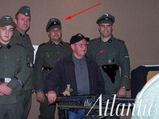Rich Iott as a Nazi