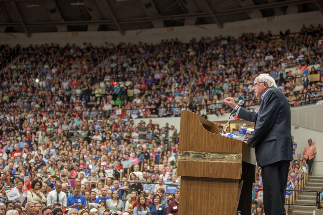 10K show up for Sanders in Madison