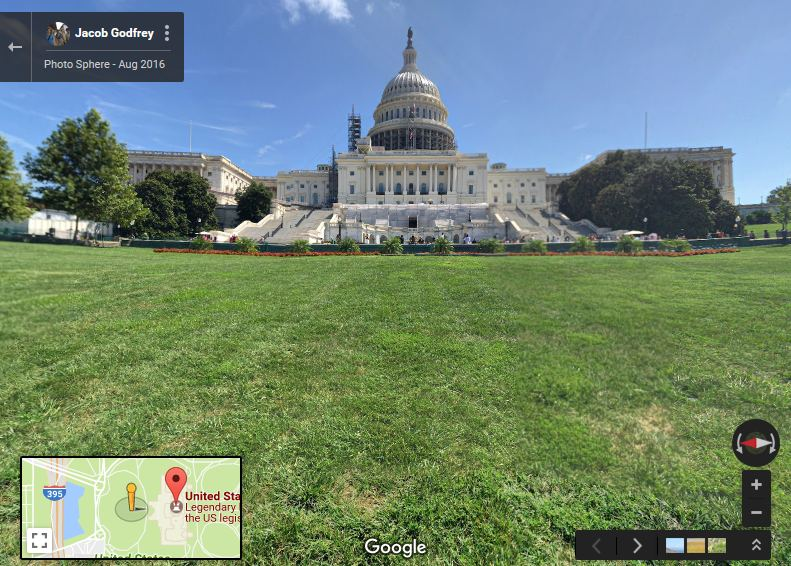 Capitol via Google Maps