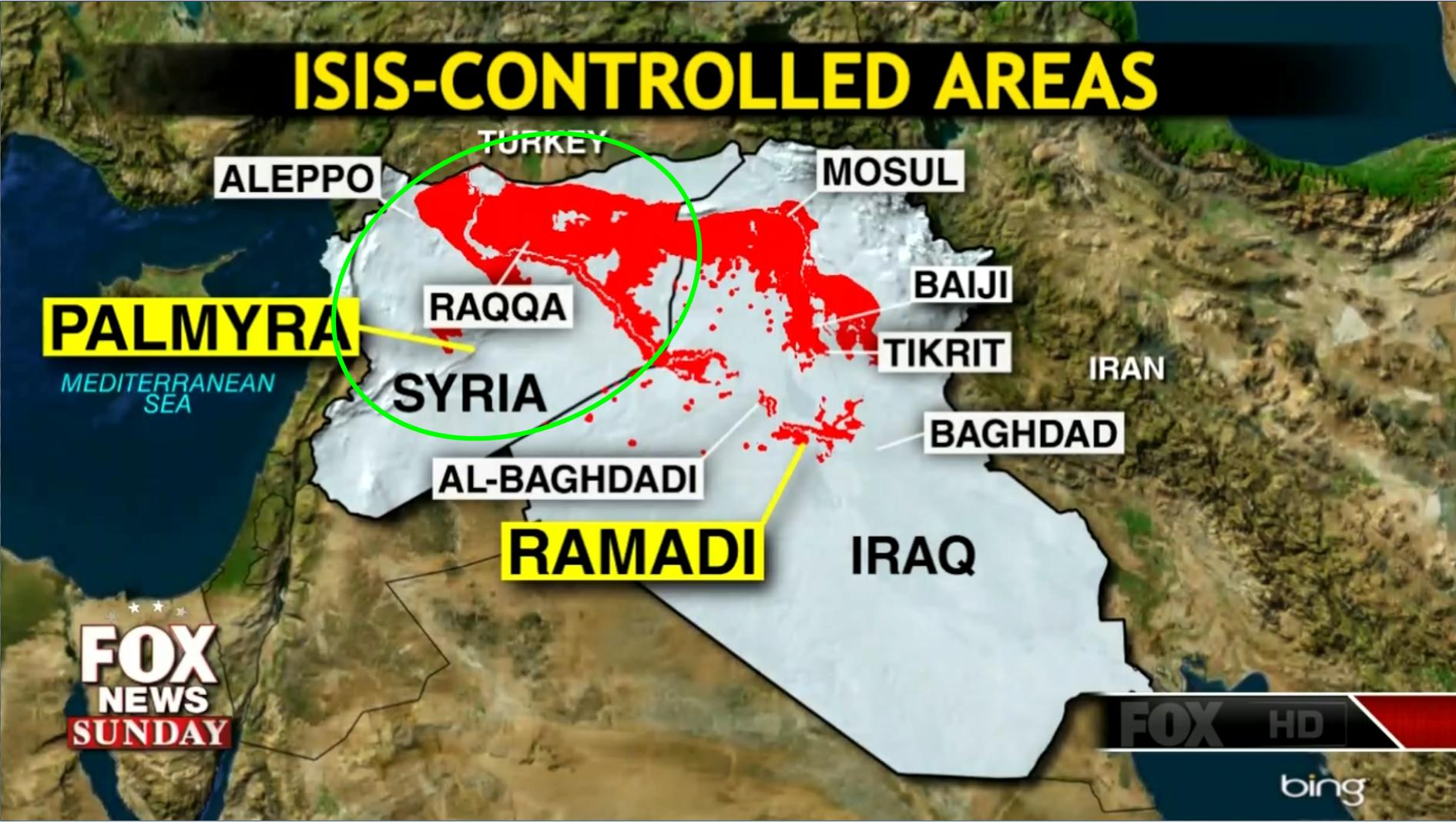 ISIS mostly in Syria