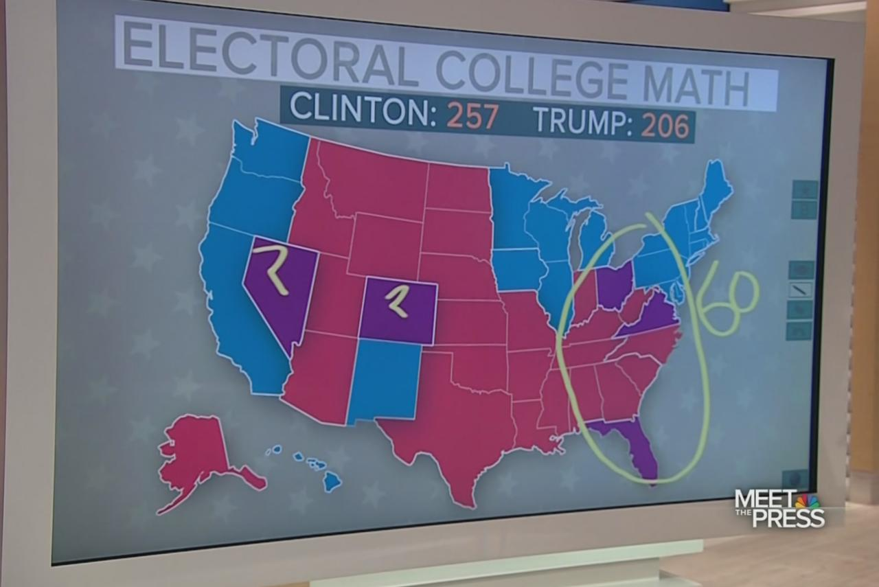 Trump's impossible electoral map