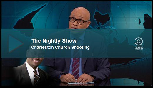 Nightly Show on Fox whitewashing of Charelston shooting