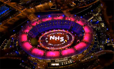 Brit tribute to NHS