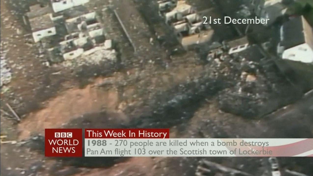 PanAm 103 crash site