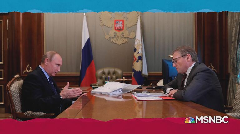 Putin with Titov
