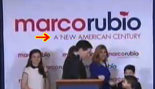 Rubio's nod to PNAC?