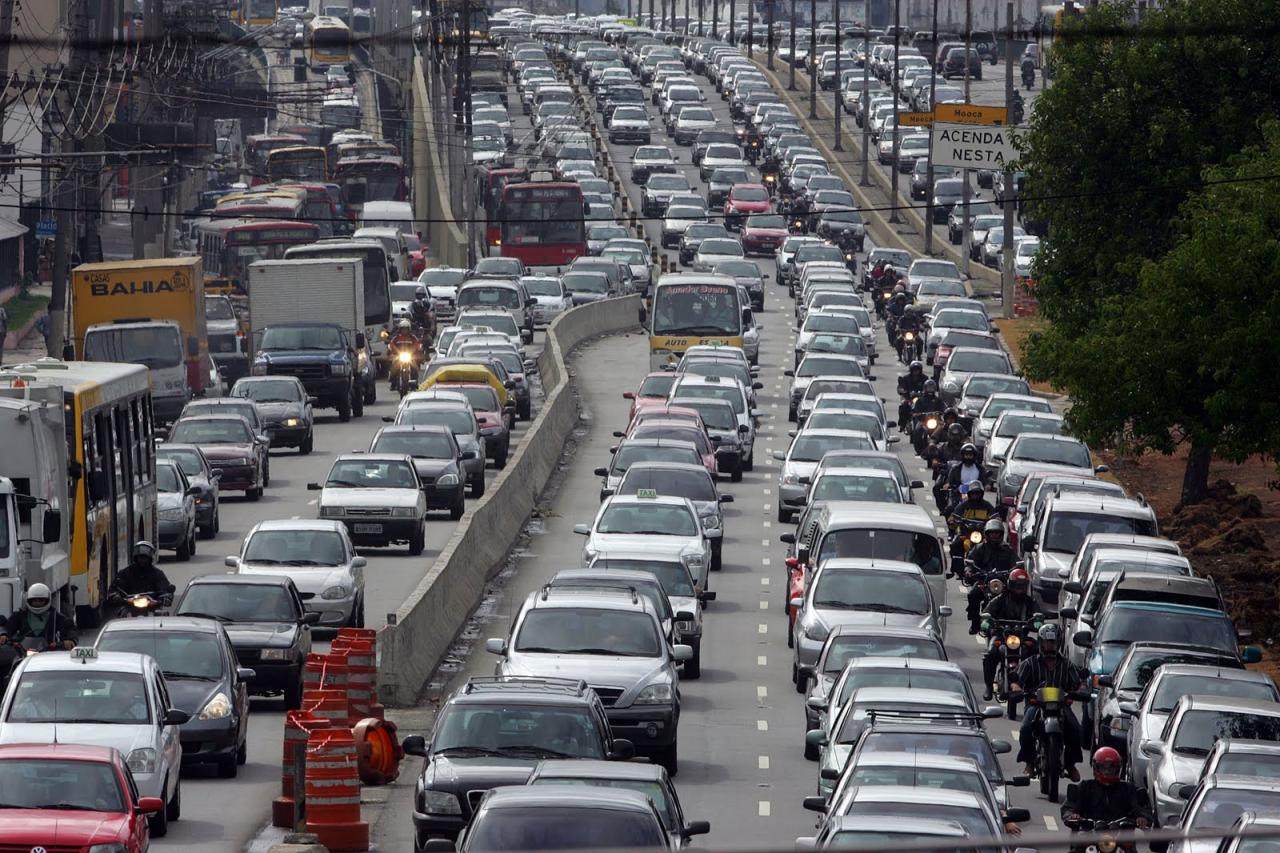 112 mile traffic jam-Sao Paolo, BRZ